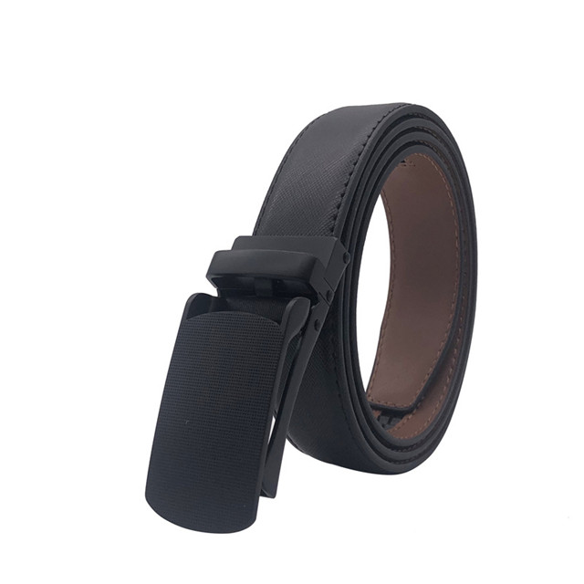 Cross-border Hot Style Belt for Men's Leisure All-leather Belt Automatic Buckle Belt Manufacturers Direct Supply