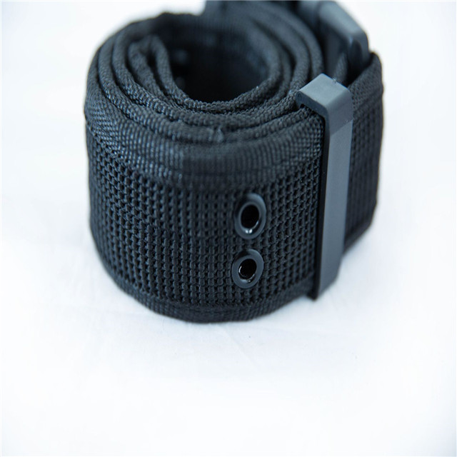 Factory Direct Outdoor S Belt Security State C Woven Outer Belt Black Hawk Tactical Training Belt Black Wholesale