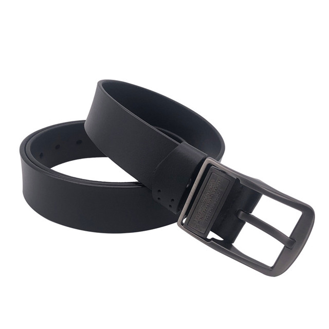 Foreign Trade Spot Hot Style Leather Belt for Men's Simple Retro Pure Cowhide Belt for New Styles