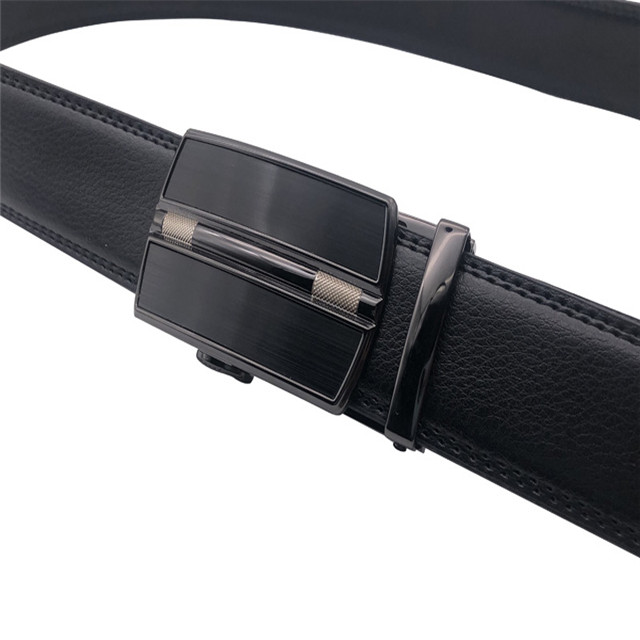 American Business Automatic Buckle Leather Gift Belt Leather Men's Belt
