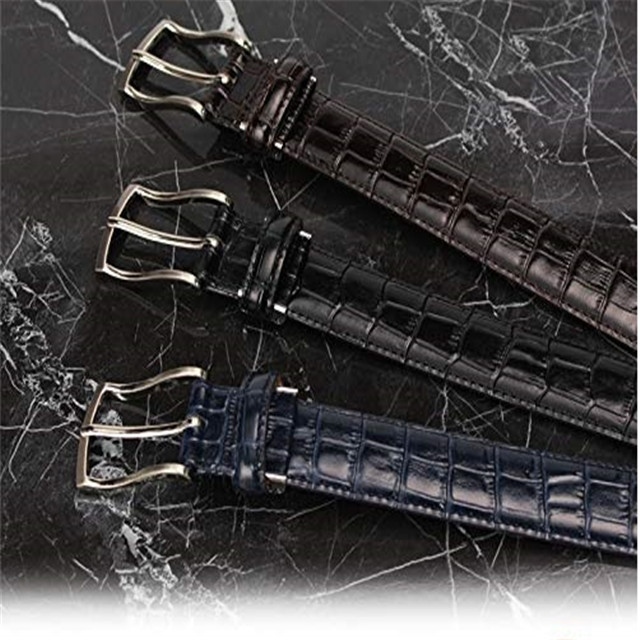 Origin Goods New Crocodile Belt Leather Belt Men's Belt Crocodile Custom Leather Men's Belt