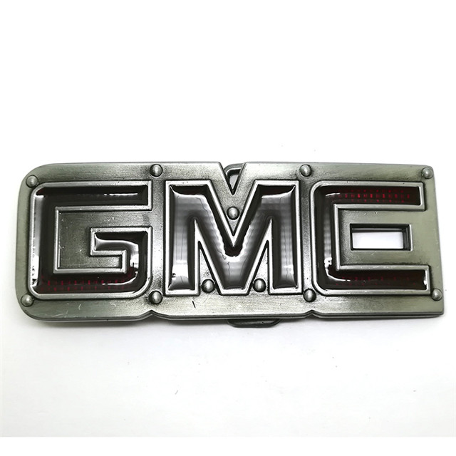 Wholesale Custom Logo Car Metal Belt Buckle Fashion Mens Cowboy Buckle Manufacturers