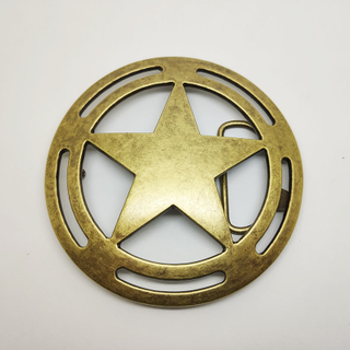 Cowboy Metal Belt Buckle For Men Wholesale Fancy Solid Brass Buckle Manufacturers Custom Logo