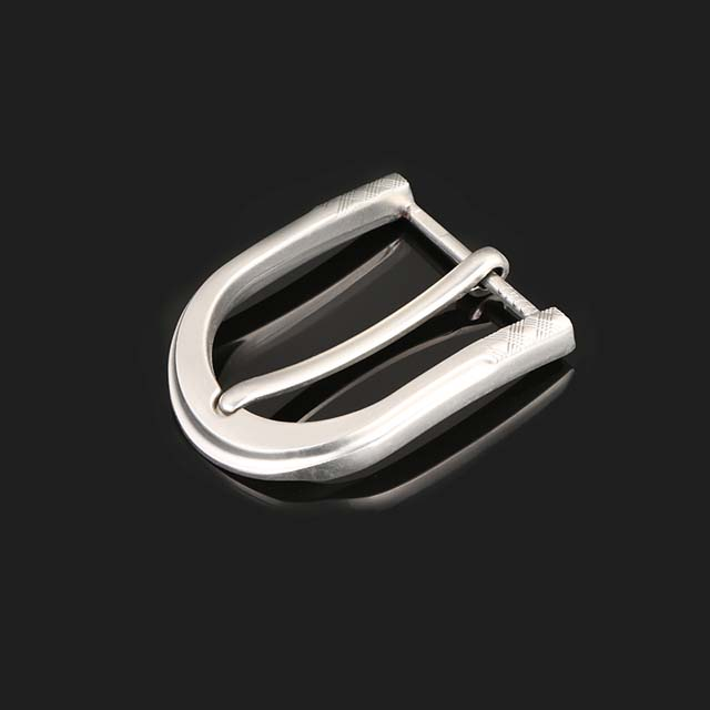30mm Belt Buckle Pin Silver Plating Fancy Ladies Design Your Own Buckle Manufacturers