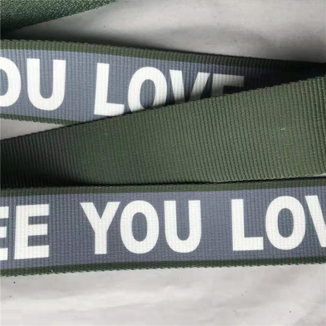 New Product Printing Webbing, Thermal Transfer Webbing, Tactical Belt, Nylon Belt