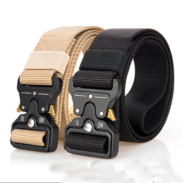 Factory Direct Army Green Nylon Belt Strap Color Size Custom Webbing Belt