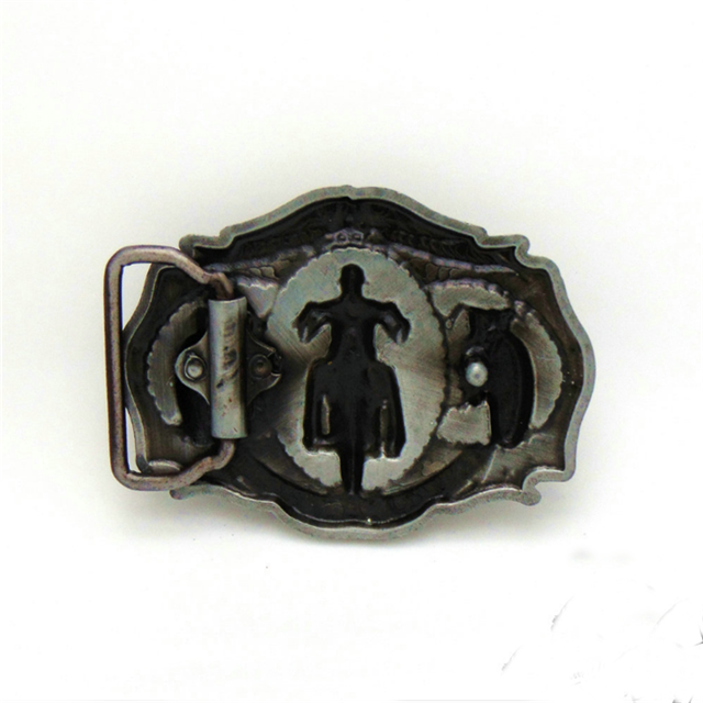 Motorcycle Fashion Customized 3D Metal Western Belt Buckle for Men