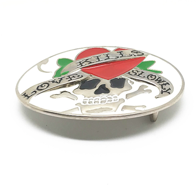 Nice Good Quality Personal Custom Zinc Alloy Western Belt Buckle Makes In China