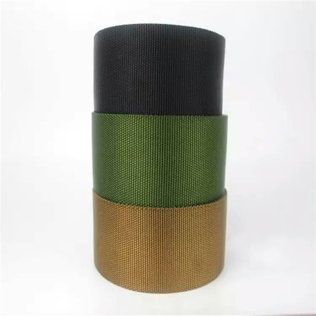 Factory Direct Army Green Thicken Tactical Nylon Ribbon Twill Belt Herringbone Training Belt Custom