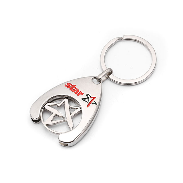 High End Good Quality Key Chain Manufacturer Rust Proof Zinc Alloy Laser Logo Accepted