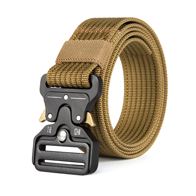 Newly Style Navy Wholesale Tactical Belt Outdoor Buckle Tactical Belts Similar Nylon Webbing Belt 2019
