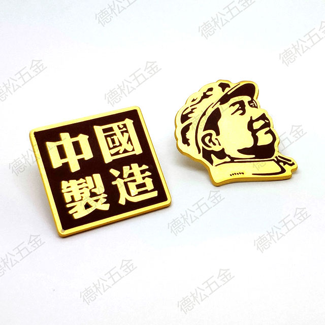 Unique Green Painting Hardware Accessories Metal Plate Zinc Alloy Shoes Custom Logo Label Tag