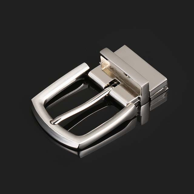 Fashion Women's Reversible Pin Belt Buckle for Men Custom Logo Metal Buckle Manufacturers